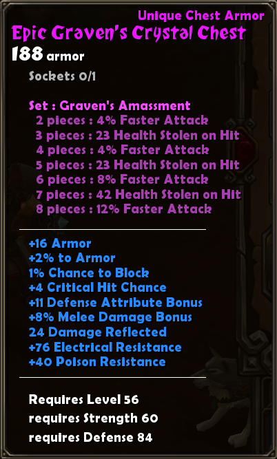 Epic Graven's Crystal Chest