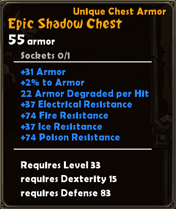 Epic Shadow Chest