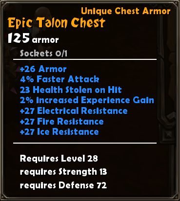 Epic Talon Chest