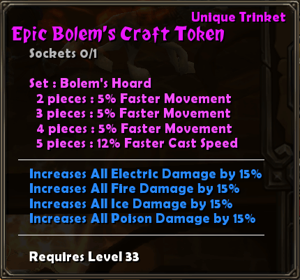 Epic Bolem's Craft Token