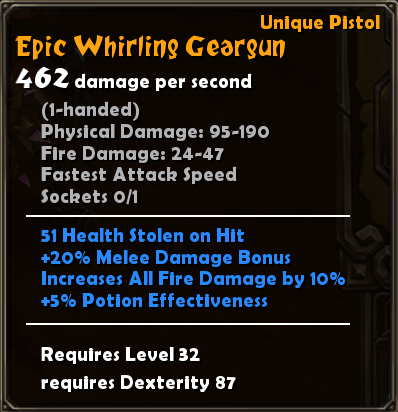 Epic Whirling Geargun