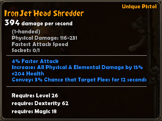 Iron Jet Head Shredder