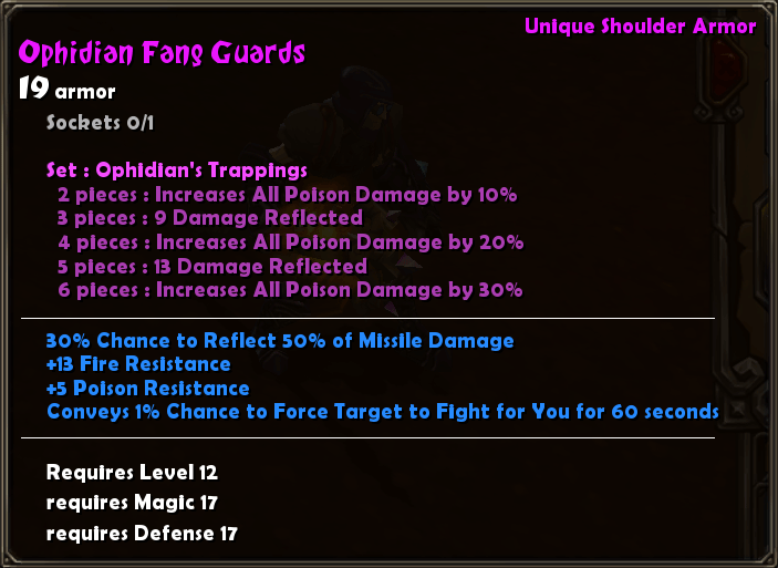 Ophidian Fang Guards