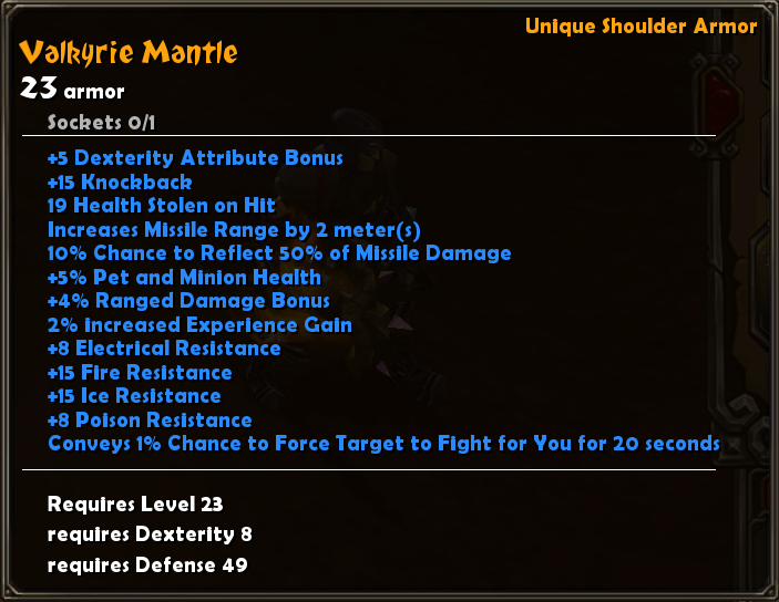 Valkyrie Mantle